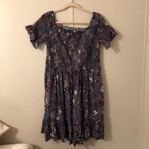 NWT Xhilaration off the shoulder dress